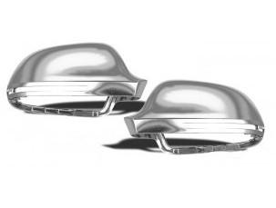 CALOTTE SPECCHIETTI CROMATE AUDI A3/A4/A5/A6/Q3