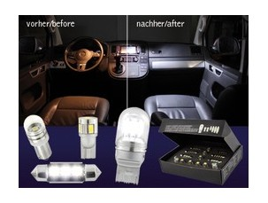 LED INTERIOR KIT AUDI A4 8E (B7)