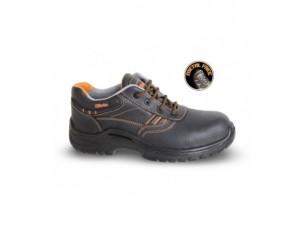 scarpe in pelle pieno fiore idrorepellente