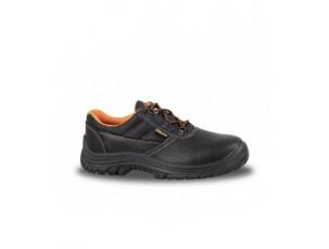 scarpe in pelle con lamina antiperforazione