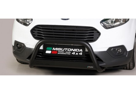 MEDIUM BULL BAR NERO OMOLOGATO FORD TRANSIT COURIER 2018-