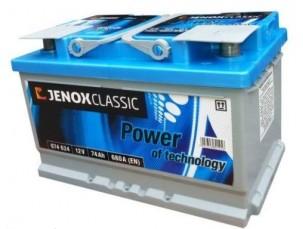 BATTERIA JENOX CLASSIC 12V/74AH/680A +DX