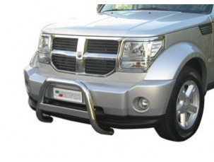 MEDIUM BULL BAR INOX DIAMETRO 3 MM DODGE NITRO 2007 -