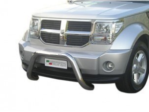 SUPER BULL BAR INOX DIAMETRO 7MM DODGE NITRO 2007 -