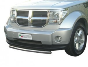 LARGE BULL BAR INOX DIAMETRO 3 MM DODGE NITRO 2007 -